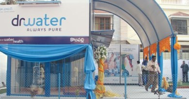 A Water Health Centre in India.