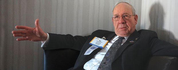 """The incoming Chairman of The Rotary Foundation, Ray Klinginsmith, says Rotary is not attracting young Scandinavians and women, though in Germany Rotary membership is considered prestigious. But even while women constitute only 20 per cent membership, """"thanks to their hard work, they are likely to rise to 30–40 per cent in Rotary leadership,"""" he told Rotary News in an interview at the 2015 Assembly in San Diego"""