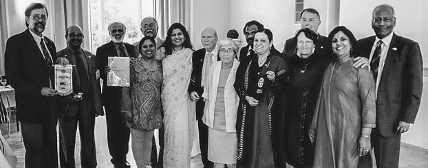Kolkata and Chennai Rotarians at the installation of the 50th President of RC Munster St Mauritz - 2013.
