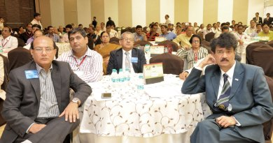A section of the audience at the seminar; on the foreground: PDGs Kamal Sanghvi, Jayant Kulkarni and Ulhas Kolhatkar.