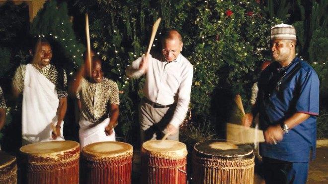 600--- Snap Shot - Ravi-Drums---Rwanda