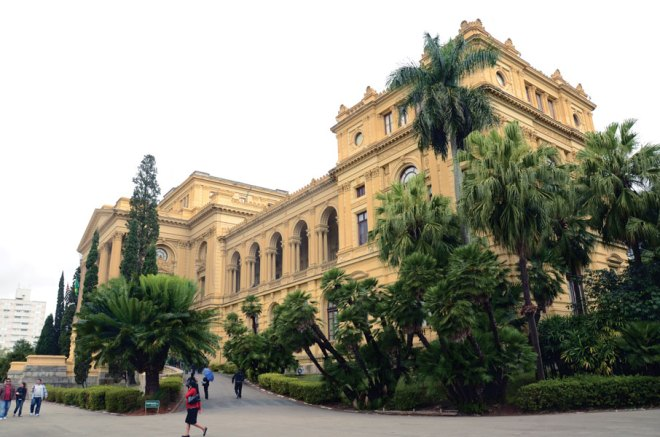 A late 19th-century building is an ideal setting for the Museu Paulista, the city's history museum.