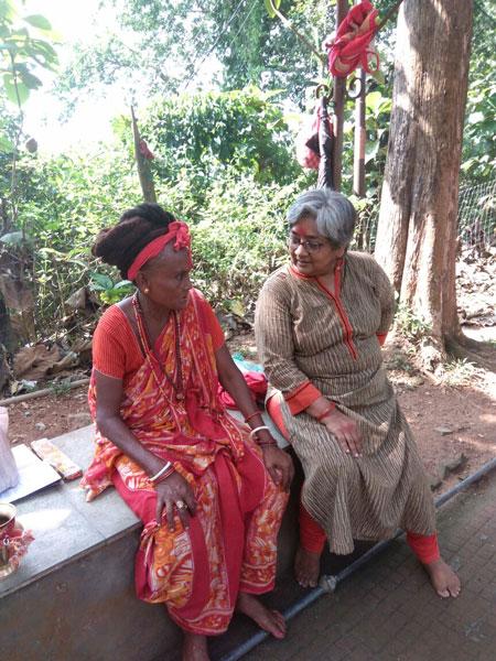 Sita, with the author.