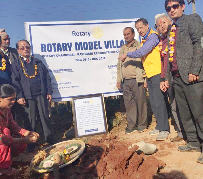 Rebuilding lives in Nepal | ROTARY NEWS