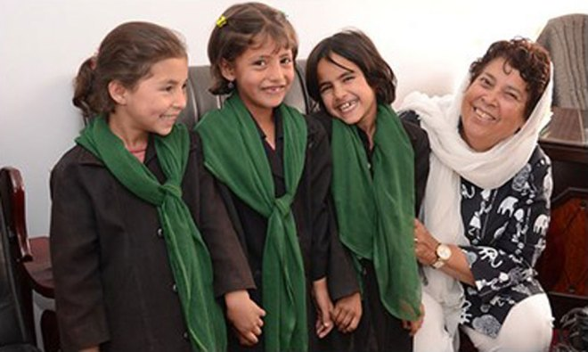 Girls school in Afghanistan.
