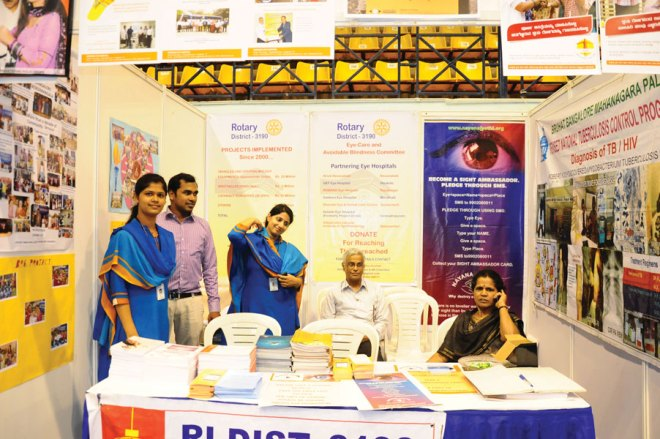 A Rotary stall.