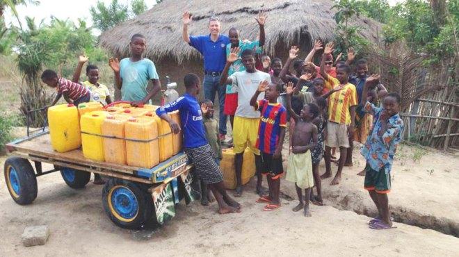 Clean water in Ghana.