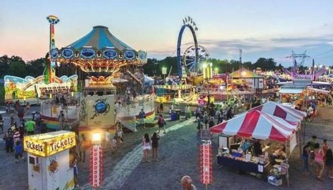 The Rotary Club of Hillsborough's annual Fair at Hillsborough Promenade attracts over 15,000 visitors.