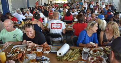 The 72nd annual Rotary Crab Feast at the Navy Marine Corps Memorial Stadium on Friday afternoon.