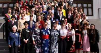 Students at the one of the past Model United Nations Assembly in Canberra for the past 21 years by the Rotary Club of Canberra Sunrise. Photo: Submitted