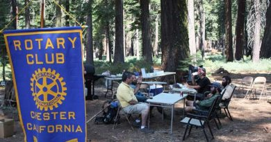 Chester Rotary opens temporary Trail Cafe to Pacific hikers