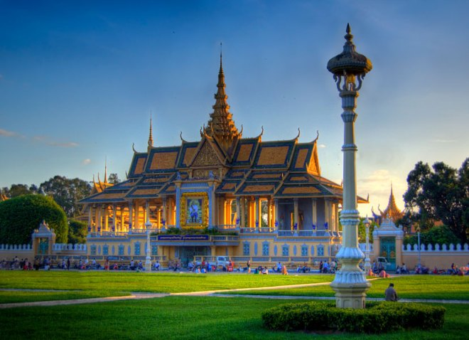 Royal Palace, Phnom Penh.