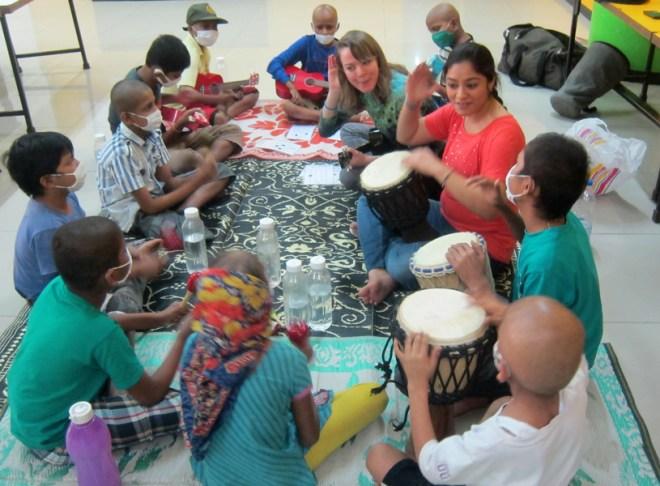 A music class.