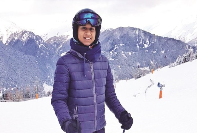 Nikiel Moodley had a memorable and life-changing experience skiing on the slopes of Austria.