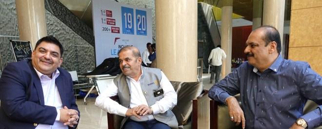 (From L) Anubhav Kapoor, DGN Ravi Dhotre and Rtn Pankaj Patel