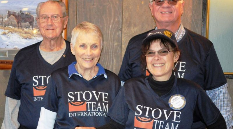 Rotary Club of Albany members who spent a week in January with the Stove Team International project in Nicaragua were, front row (from left), Joanna Olson and Dr Laura Ouellette. Back row (from left): Dave Bussard and Dave Schmidt. Photo: Alex Paul/Democrat-Herald