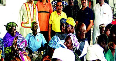 EYE CAMP: A cross-section of beneficiaries of the free eye screening/surgery camp by Rotary Club of Palmgrove in Lagos.