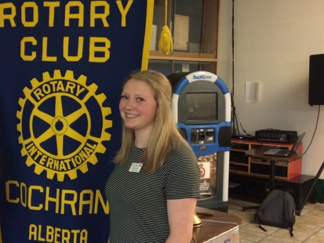 A Rotary meet listed out the opportunities for women in the organisation. Photo: Martin Parnell