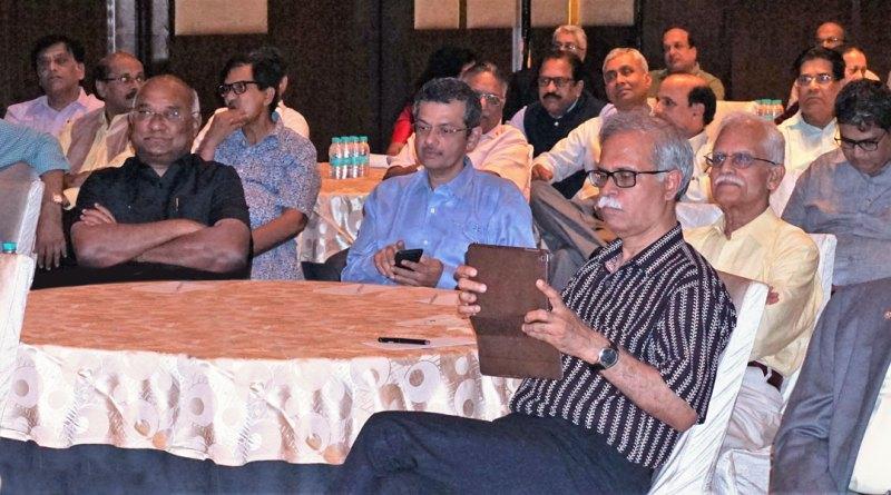 From L:PRID P T Prabhakar, RID C Basker, RIDN Bharat Pandya, PDG (D 3232) Raja Ramakrishnan, PDG (D 3011) N Subramanian and Institute Chairman ISAK Nazar.