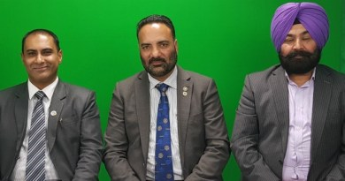 From Left to Right: Raj Chand, Paramjit Dhat and Kulbeer Singh, members of the Rotary Club of Papatoetoe Central.