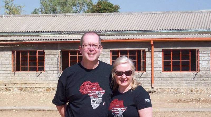 David Rowe, a dedicated volunteer with the Rotary Club of St John's Northwest's Tshelanyemba Adopt-a-Village project, pictured with wife Linda on one of the couple's missions to the remote Zimbabwe village. David took ill and died in Johannesburg, South Africa, last year. Photo: Submitted