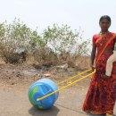 Water wheels make fetching water easy