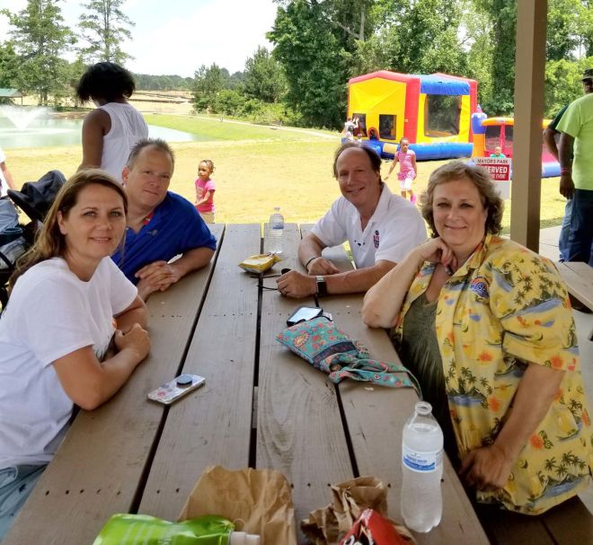 The Rotary Club of Lake Spivey/Clayton County hosted a Human Trafficking Awareness event last month. Special photo