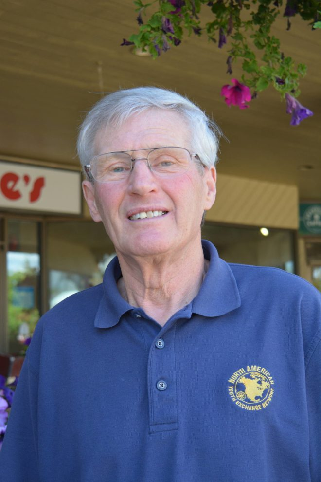 RC Quesnel President Petrie Neave