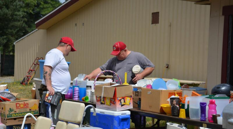 The Rummage sale featured everything from clothes to tupperware, furniture to toys. There was plenty for customers to peruse. Photo: Racquel Muncy