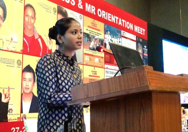 Neha Singh, a TB survivor and champion.