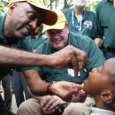 Rotary International's final battle against polio