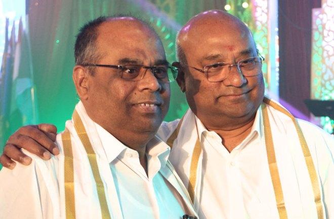 Institute Chairman ISAK Nazar and RID C Basker.