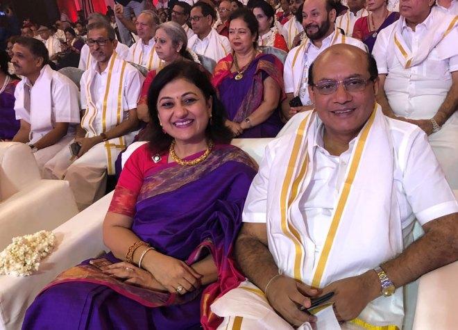 Sonal and RIDE Kamal Sanghvi.