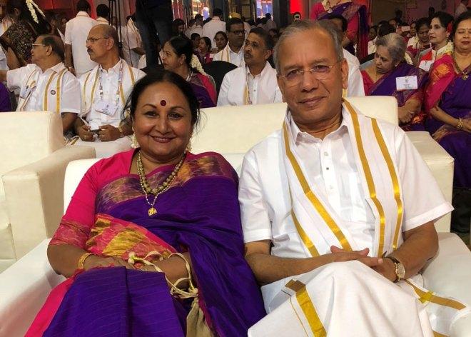 Vanathy and PRIP K R Ravindran.