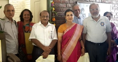 From L: Rotarians S K Ghia, Bhavna Ansari, Ravi Shinde, President Sudha Navandar, Yogesh Zaveri and Rajni Seth at the inaugural of the Centre.