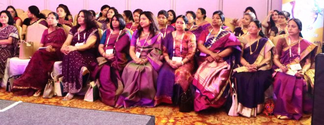 Spouses of incoming governors at the session.