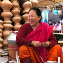 A stunning all-women's market in Imphal