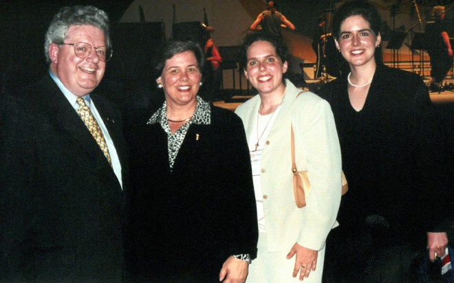 RIPE Maloney and Gay with their daughters Phyllis and Margaret.