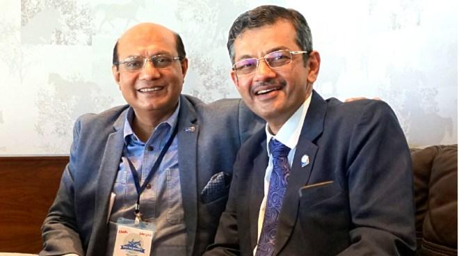 RIDEs Kamal Sanghvi and Bharat Pandya