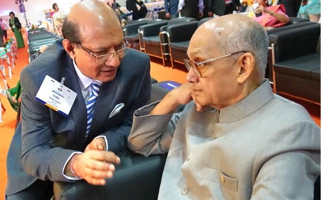 Kamal Sanghvi with PRIP Kalyan Banerjee.
