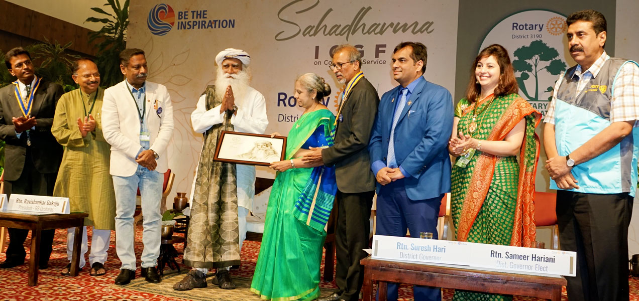 Karnataka Rotarians on a mission to green the Earth | ROTARY