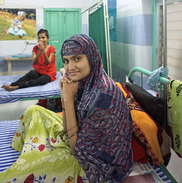 Zoya Ali recovering from TB at the St Thomas Home.