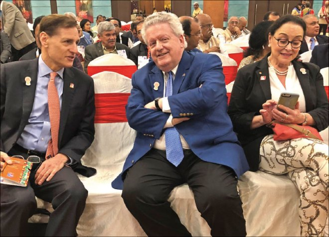 RI General Secretary Hewko, President Maloney and Margarita.