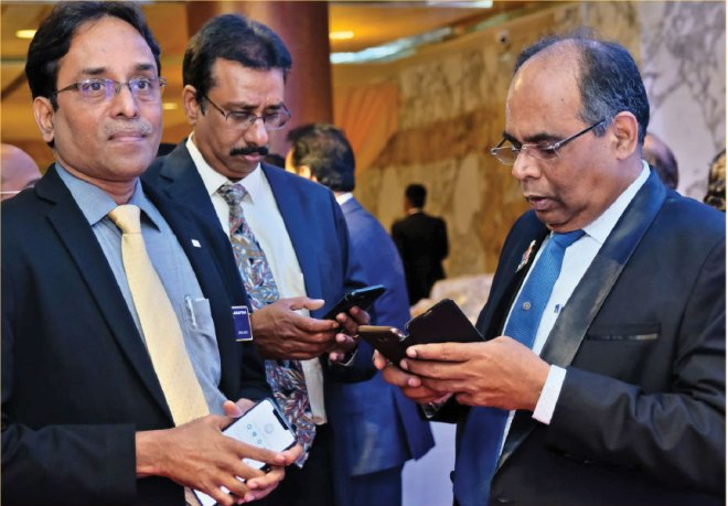 (From R) PDGs ISAK Nazar, R Srinivasan and DGE S Muthupalaniappan.