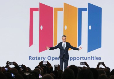 Holger Knaack sees opportunities for Rotary to change, thrive