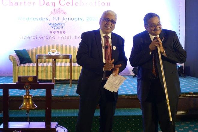 Saumen Ray and PDG Prabhat Krishna Rohatgi.