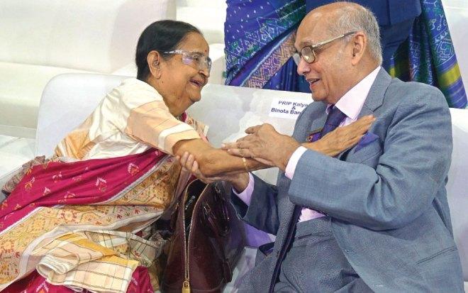 PRIP Kalyan Banerjee and Binota.