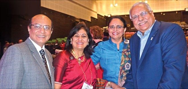 RID Sanghvi, Sonal, Sharmishtha and PRID Manoj Desai.