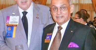 PRIP Kalyan Banerjee with PRIP Frank Devlyn.