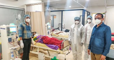 RID 3060 Rotarians are helping their community hospitals deal with the corona pandemic.